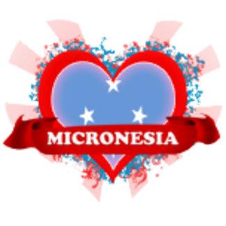 Vintage I Love Micronesia