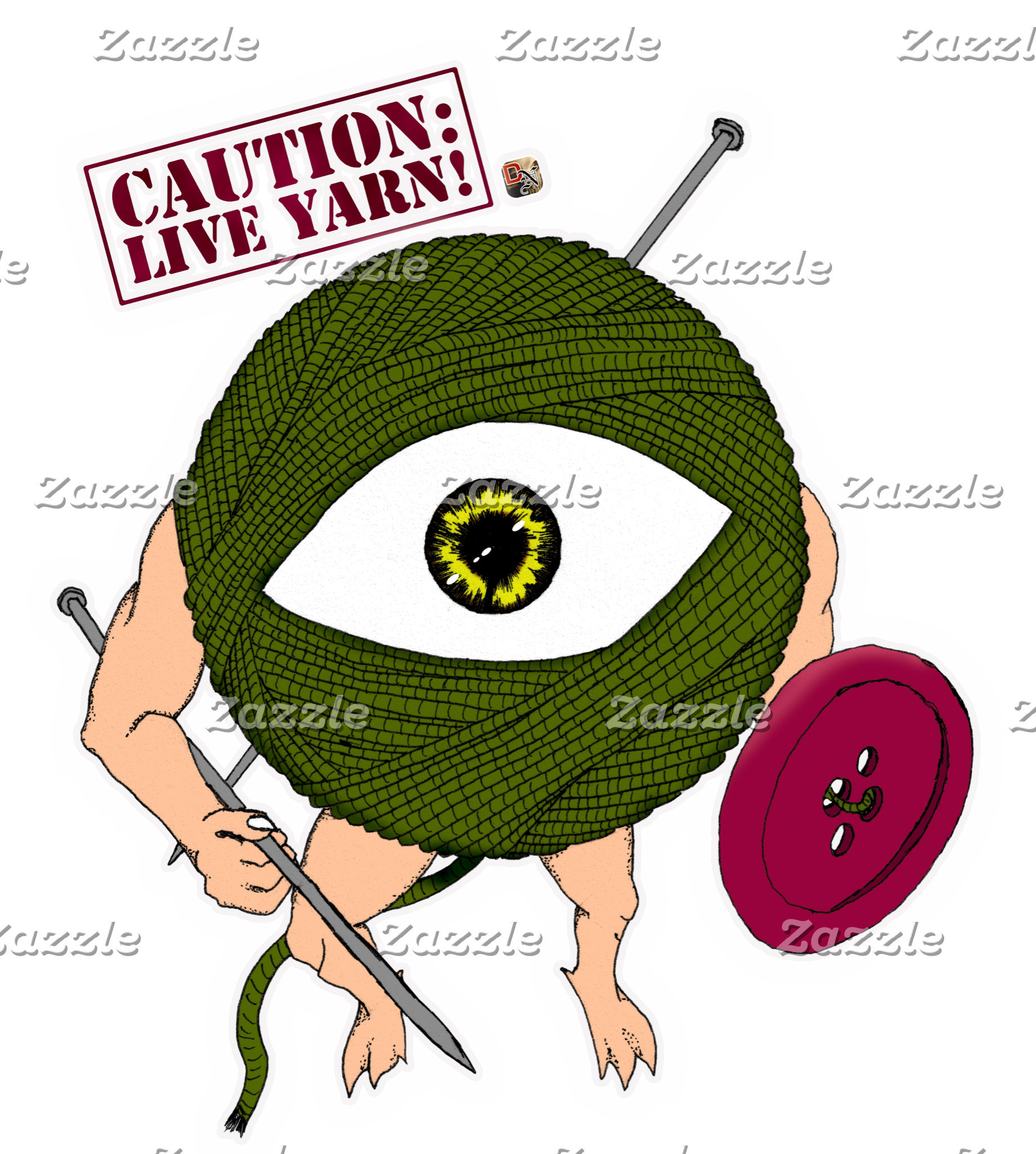 Caution: Live Yarn! Infantry