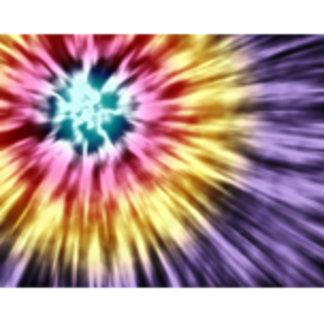 Abstract Purple Tie Dye