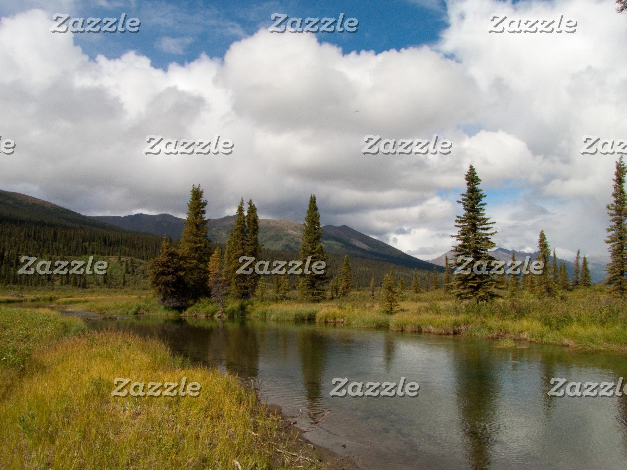Creeks and Rivers Around the Yukon