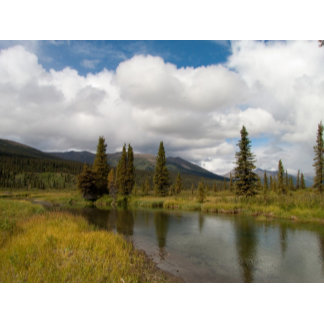 Creeks and Rivers Around the Yukon