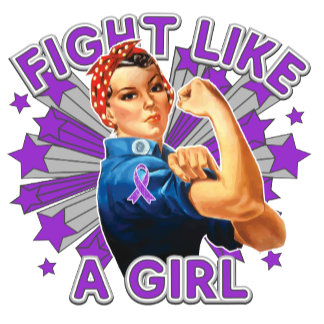 Epilepsy Vintage Rosie Fight Like A Girl