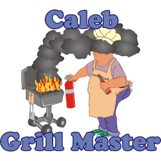 Personalized Caleb Grill Master