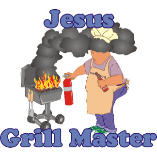 Personalized Jesus Grill Master