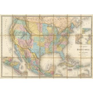 Carte Generale Des Etats
