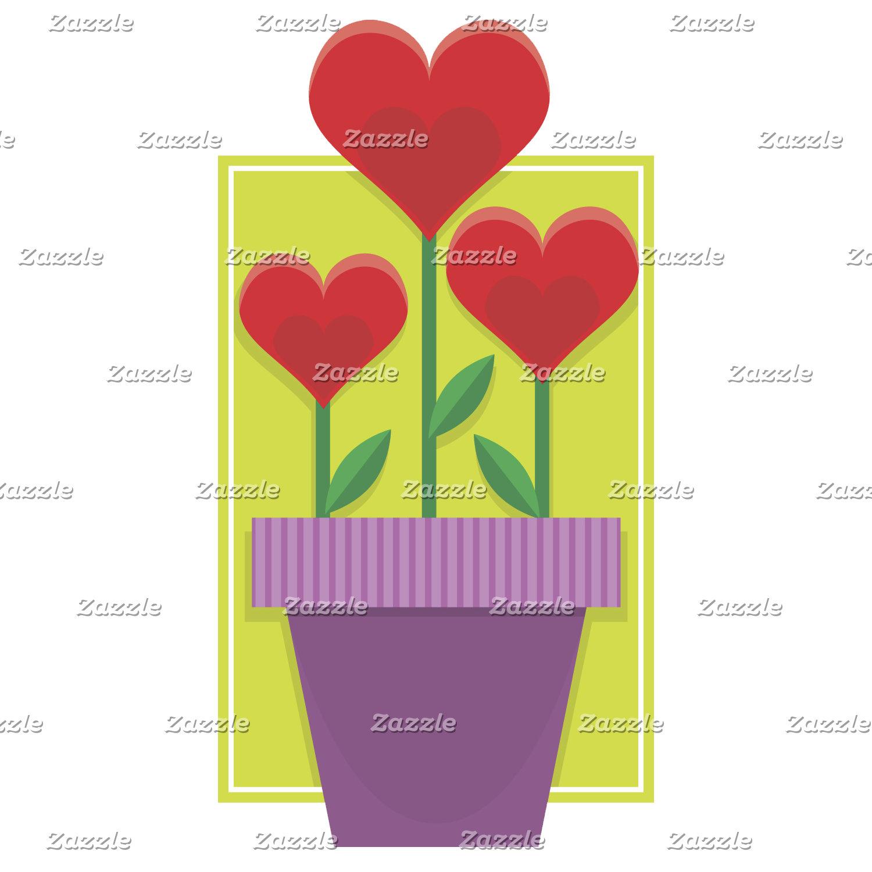 Flowering Hearts Valentine
