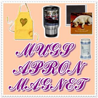 Magnets,Apron,Mugs