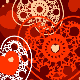 Hearts Geometric Backgrounds
