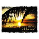 He is not here;He has risen Luke 24 6 A1.png