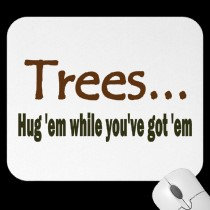 Hug Trees Now