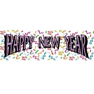 Happy New Year in Purple