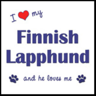 I Love My Finnish Lapphund (Male Dog)