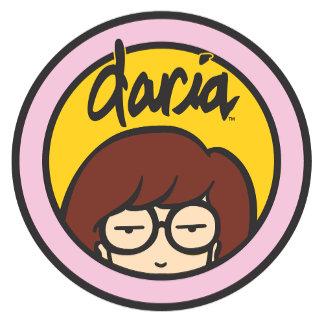 Daria Circle Logo Orange/Pink