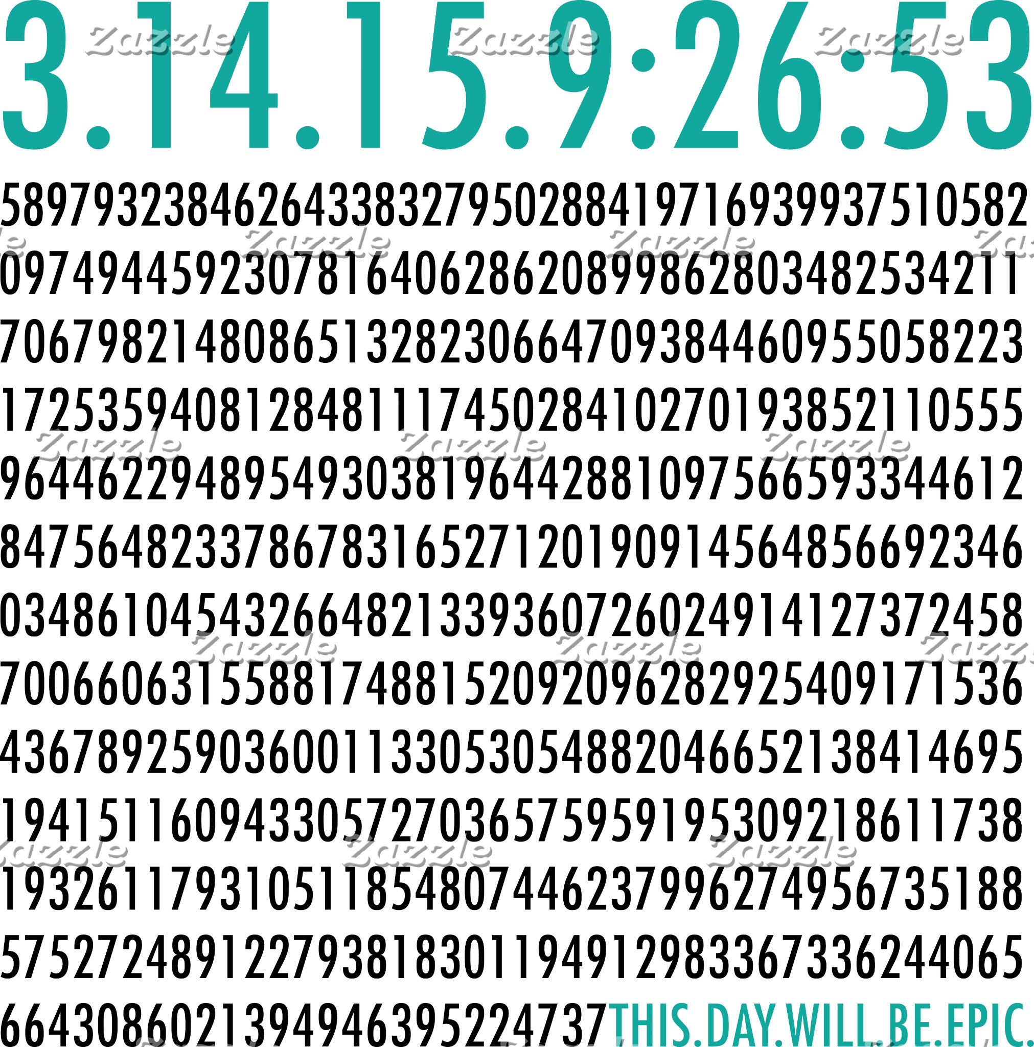 Pi Day Math Tshirts