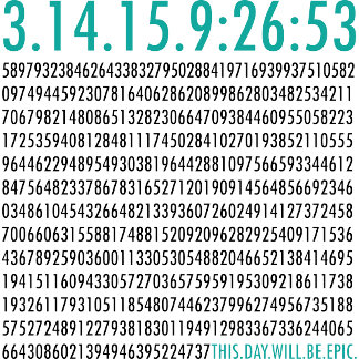 Pi Day Math Tshirts