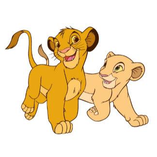 Simba and Nala Running
