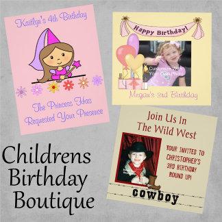 Childrens Birthday Boutique