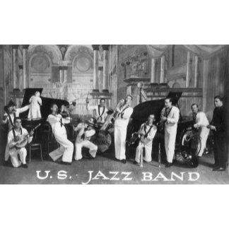 A US Navy Jazz Band