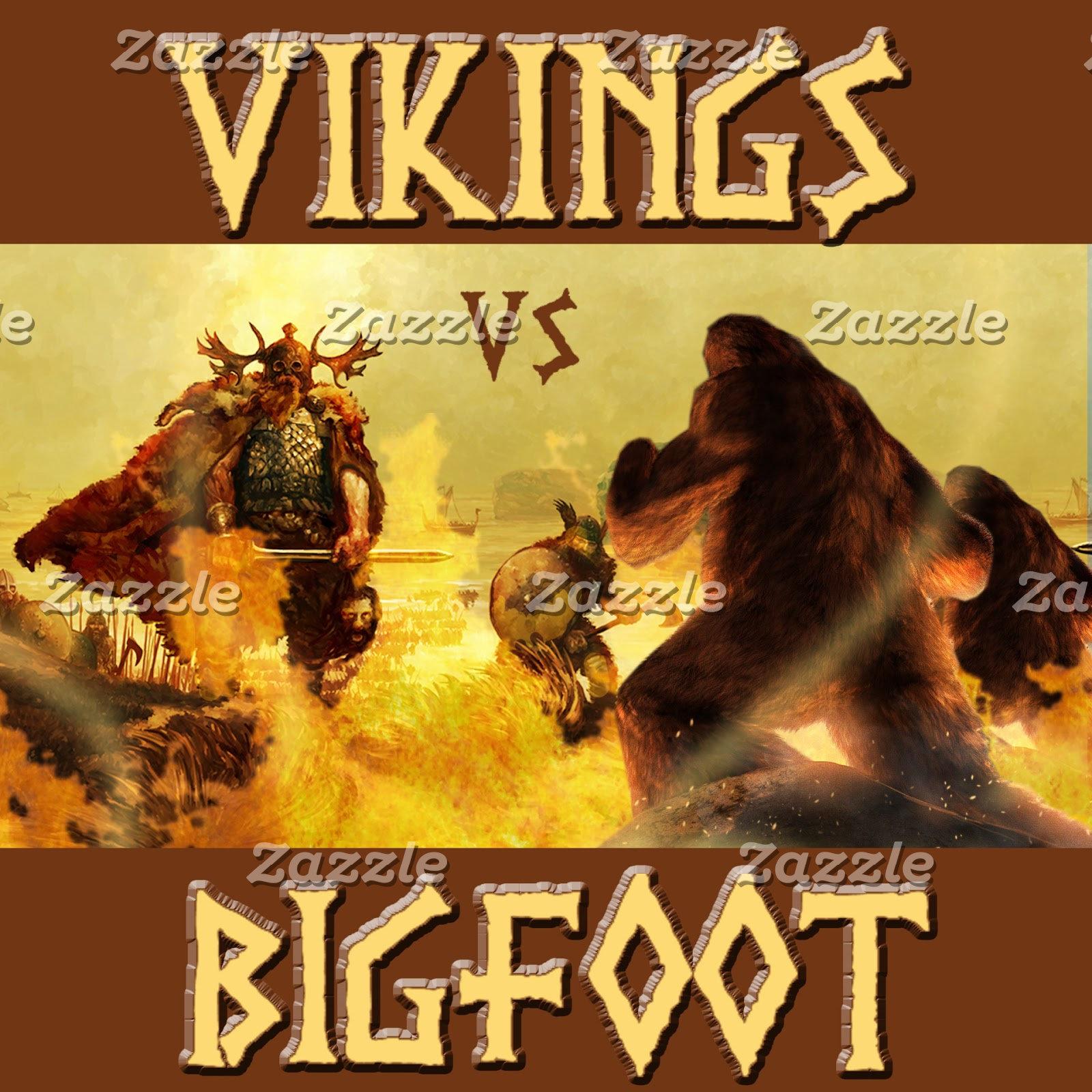 VIKINGS vs. BIGFOOT