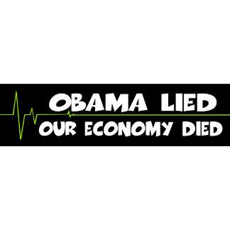 Anti Obama healthcare bumper stickers