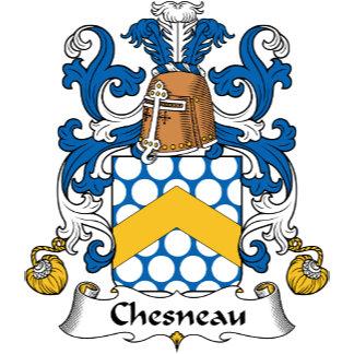 Chesneau Family Crest