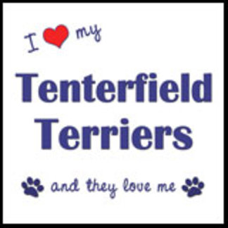 I Love My Tenterfield Terriers (Multiple Dogs)