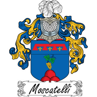 Moscatelli Family Crest