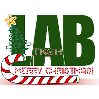 LAB XMAS MERRY CHRISTMAS LABORATORY