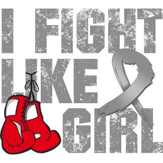 Brain Tumor I Fight Like A Girl (Grunge)