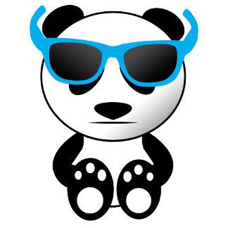 Cool panda with sunglasses