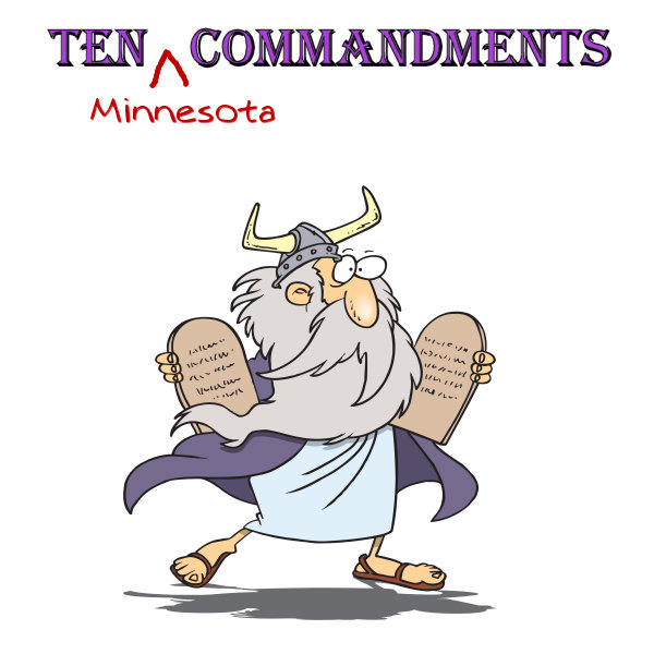 10 Minnesota Commandments