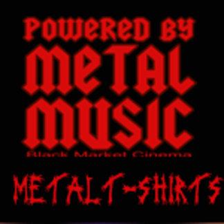 METAL t shirts | METAL music | HEAVY METAL tees