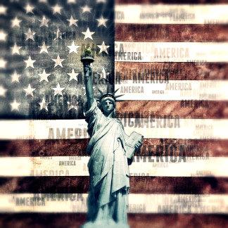 Vintage Patriotic American Liberty