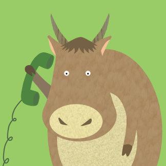 Yak on the Phone