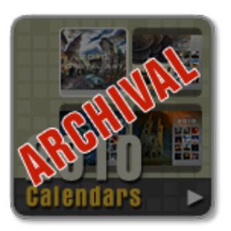 Archival Calendars (2009-2014)