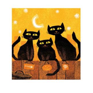 Black Cat Trick or Treat