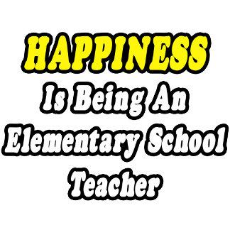 Happiness Is Being an Elementary School Teacher
