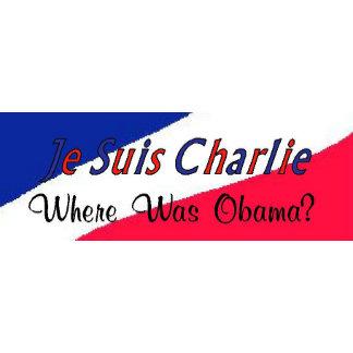 Je Suis Charlie - Where Was Obama