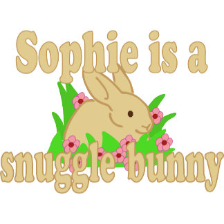 Sophie is a Snuggle Bunny