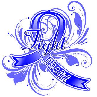 Rectal Cancer Fight Like a Girl Flourish