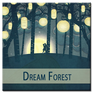Wish Lanterns Dream Forest