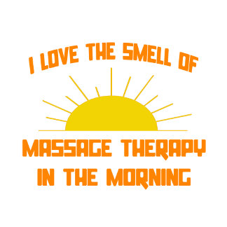 Smell of Massage Therapy in the Morning
