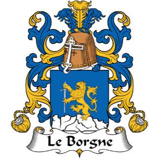 Le Borgne Family Crest