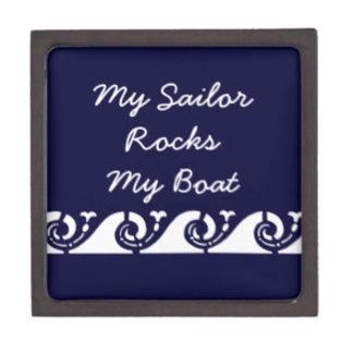 My Sailor Rocks My Boat