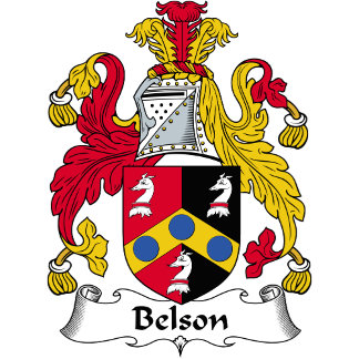 Belson Family Crest / Coat of Arms