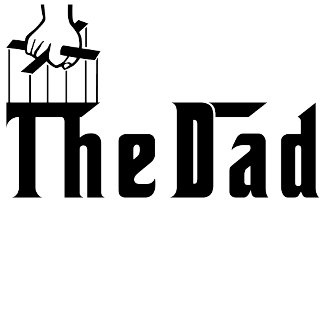 The Dad in Godfather Font