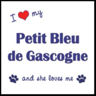 I Love My Petit Bleu de Gascogne (Female Dog)