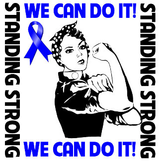 Colon Cancer Standing Strong We Can Do It