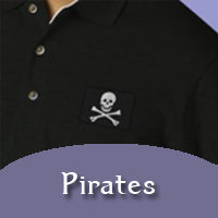 Pirates Embroidered Products