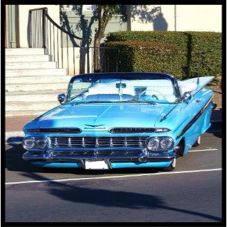 Classic Blue car 4